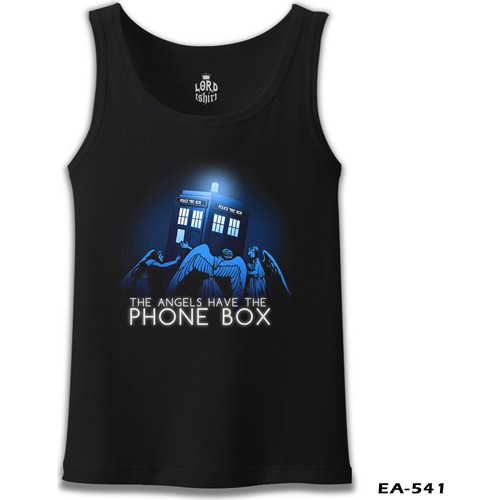 Lord T-Shirt Doctor Who - The Angels Have The Phone Box T-Shirt