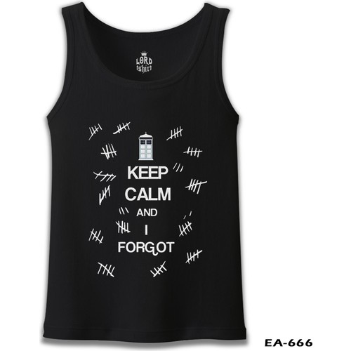 Lord T-Shirt Dr. Who - Keep Calm And İ Forgot T-Shirt