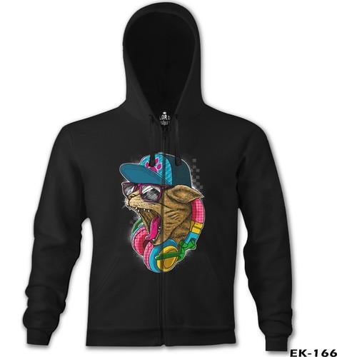 Lord T-Shirt Cat Headphone