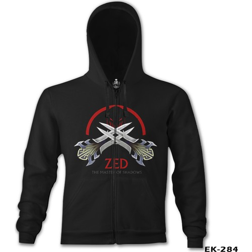 Lord T-Shirt League Of Legends - Zed Sign
