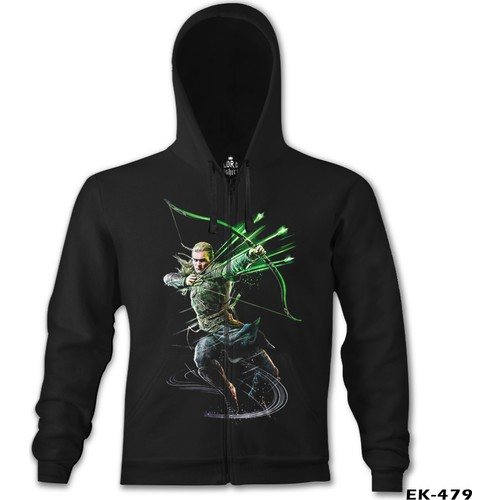Lord T-Shirt Guardians Of Middle Earth - Legolas