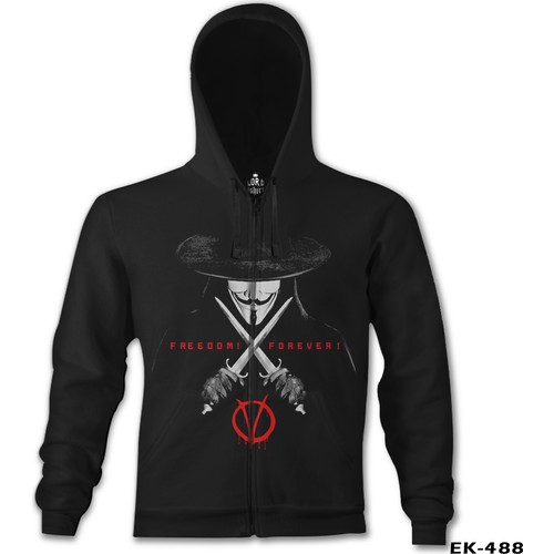 Lord T-Shirt V For Vendetta - Freedom