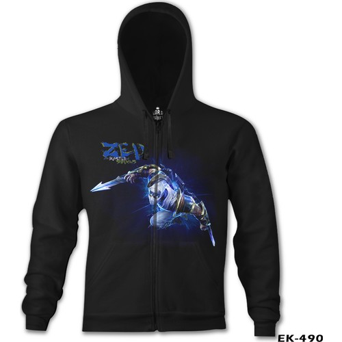 Lord T-Shirt League Of Legends - Zed Shockblade