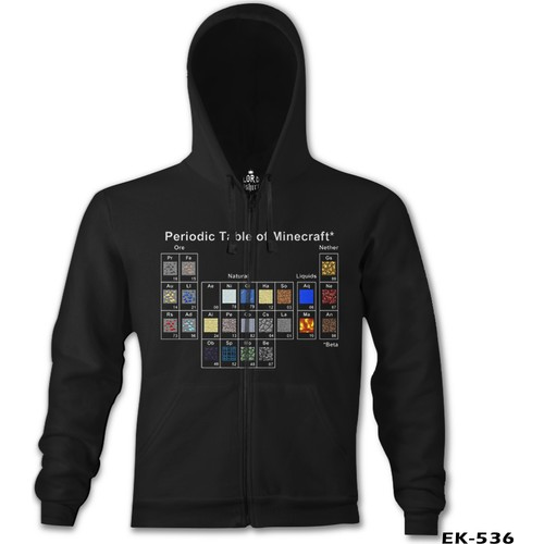 Lord T-Shirt Minecraft - Periodic Table