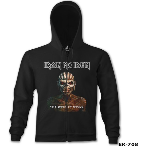 Lord T-Shirt Iron Maiden - The Book Of Souls