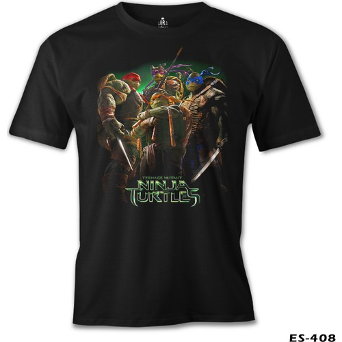 Lord T-Shirt Ninja Turtles Erkek T-Shirt