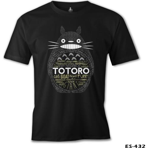 Lord T-Shirt Totoro Erkek T-Shirt