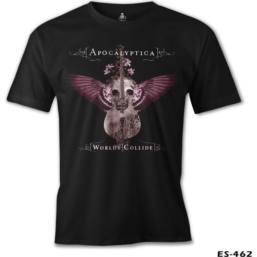 Lord T-Shirt Apocalyptica - Worlds Collide Erkek T-Shirt