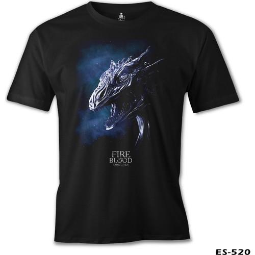 Lord T-Shirt Game Of Thrones - Targaryen Dragon Erkek T-Shirt