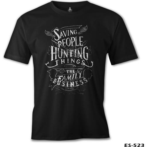 Lord T-Shirt Supernatural - The Family Business Erkek T-Shirt