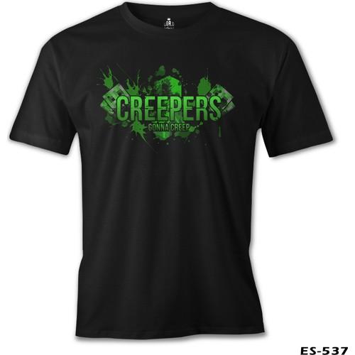 Lord T-Shirt Minecraft - Creepers Erkek T-Shirt