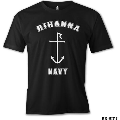 Lord T-Shirt Rihanna Navy Erkek T-Shirt