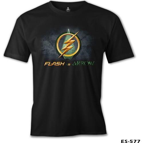 Lord T-Shirt Flash Vs Arrow Erkek T-Shirt