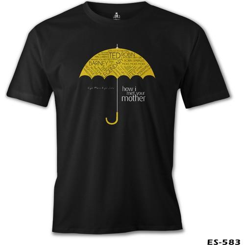 Lord T-Shirt How I Met Your Mother - Umbrella Erkek T-Shirt