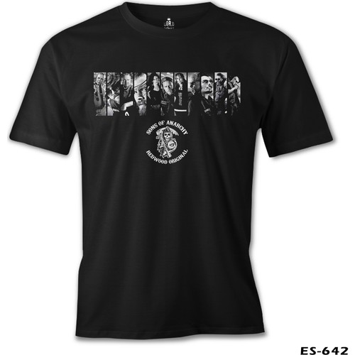 Lord T-Shirt Sons Of Anarchy - Redwood Original Erkek T-Shirt