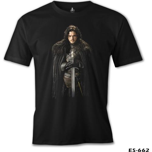 Lord T-Shirt Game Of Thrones - Jon Snow Erkek T-Shirt
