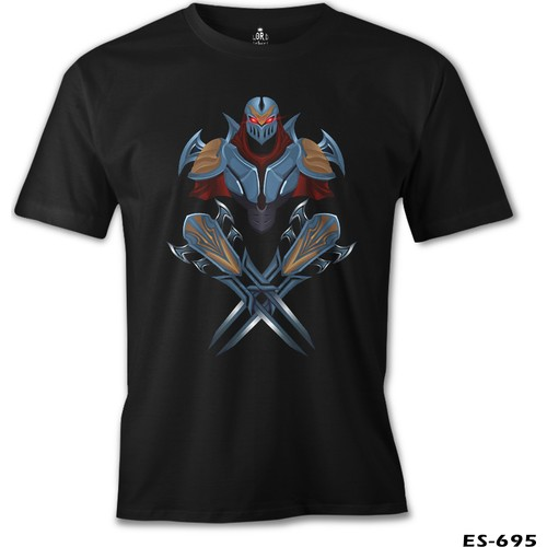 Lord T-Shirt League Of Legends - Zed Blade