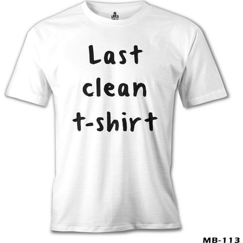 Lord T-Shirt Last Clean Tshirt