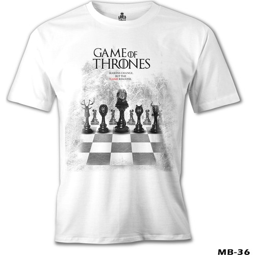 Lord T-Shirt Game Of Thrones - Season Changes But Game Remains