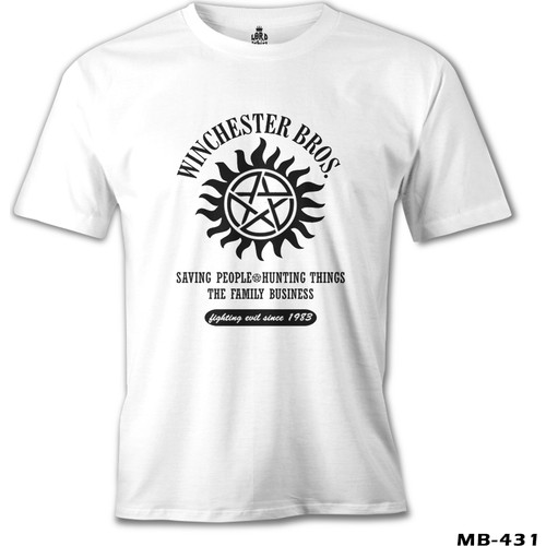 Lord T-Shirt Super Natural - Winchester Bros.