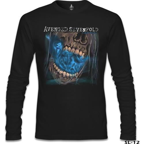 Lord T-Shirt Avenged Sevenfold - Nightmare Siyah Erkek T-Shirt