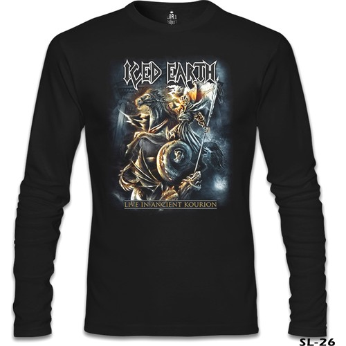 Lord T-Shirt Iced Earth - Live İn Ancient Kourion Siyah Erkek T-Shirt