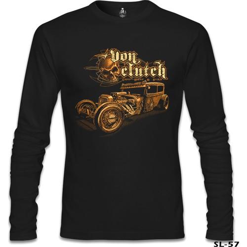 Lord T-Shirt Old Car Siyah Erkek T-Shirt