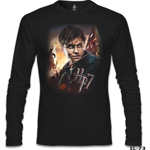 Lord T-Shirt Harry Potter Siyah Erkek T-Shirt