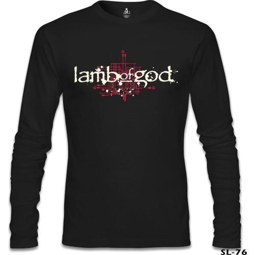 Lord T-Shirt Lamb Of God - Logo Siyah Erkek T-Shirt