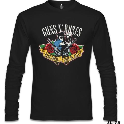 Lord T-Shirt Guns N' Roses - Gone To Hell Siyah Erkek T-Shirt