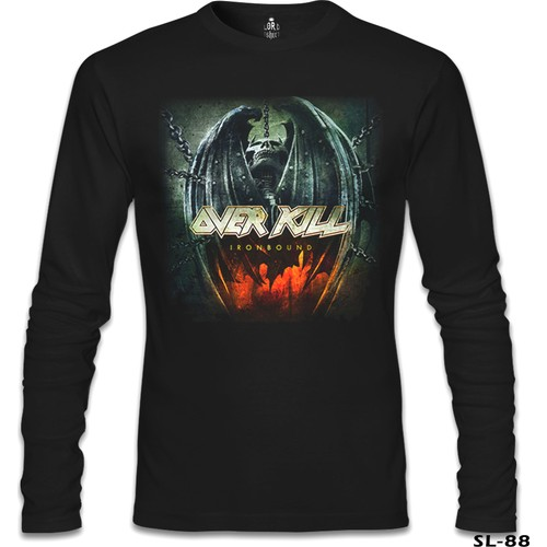 Lord T-Shirt Overkill - Iron Bound Siyah Erkek T-Shirt