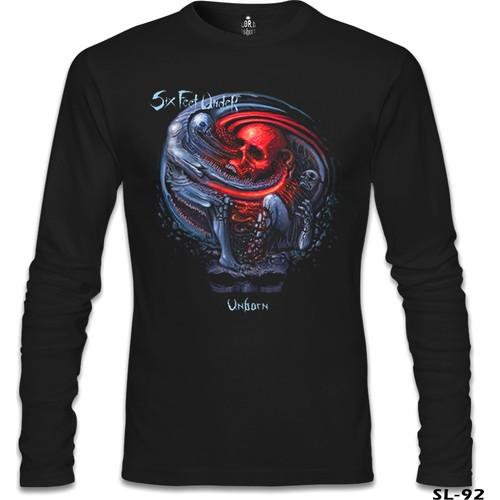 Lord T-Shirt Six Feet Under - Unborn Siyah Erkek T-Shirt