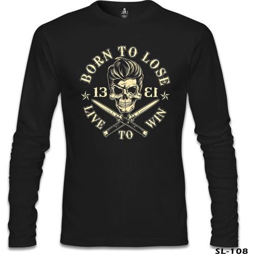Lord T-Shirt Kurukafa - Live Siyah Erkek T-Shirt