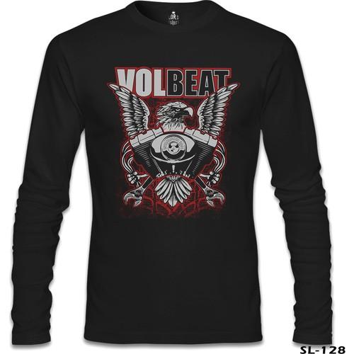 Lord T-Shirt Volbeat - The Eagle Siyah Erkek T-Shirt