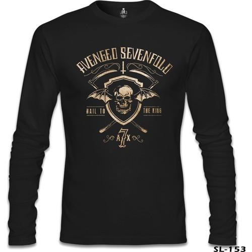 Lord T-Shirt Avenged Sevenfold - Hail Logo Siyah Erkek T-Shirt