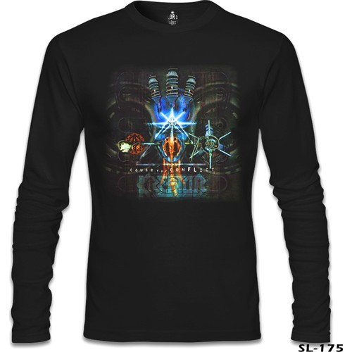Lord T-Shirt Kreator - Cause For Conflict Siyah Erkek T-Shirt