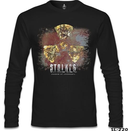 Lord T-Shirt Stalker Siyah Erkek T-Shirt