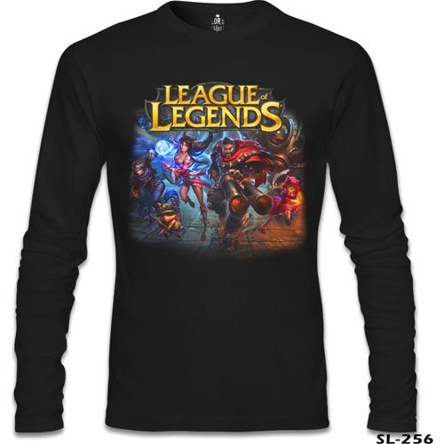 Lord Sweatshirt League Of Legends - Graves Siyah Erkek Sweatshirt