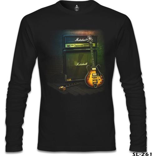 Lord T-Shirt Marshall Siyah Erkek T-Shirt