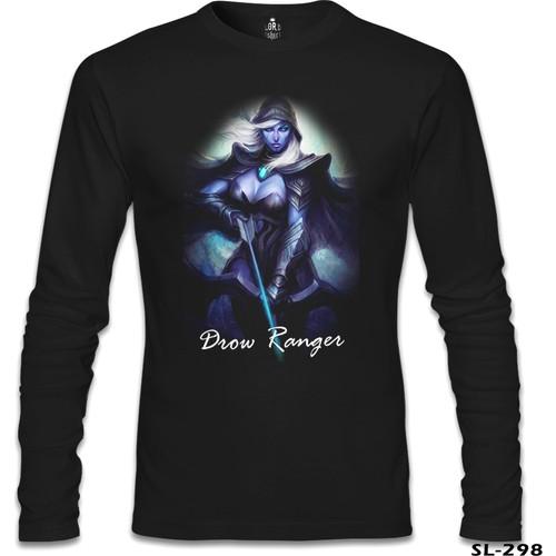 Lord T-Shirt Dota 2 - Drow Ranger Siyah Erkek T-Shirt