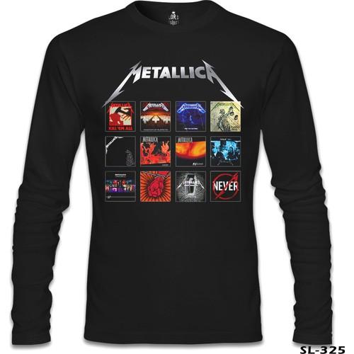 Lord T-Shirt Metallica - Album Covers Siyah Erkek T-Shirt