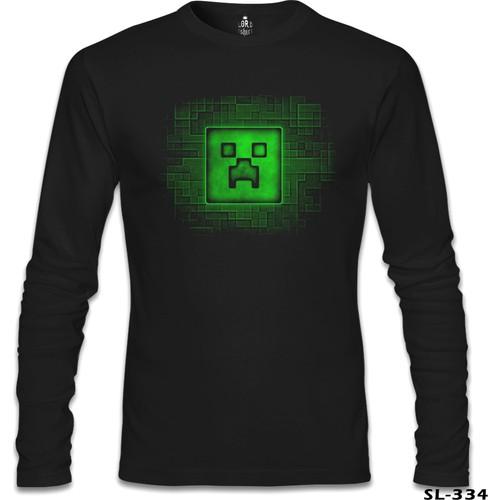 Lord T-Shirt Minecraft 2 Siyah Erkek T-Shirt