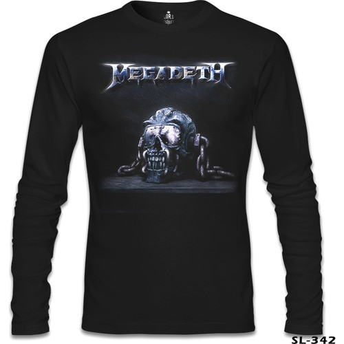 Lord T-Shirt Megadeth - Vic 1 Siyah Erkek T-Shirt