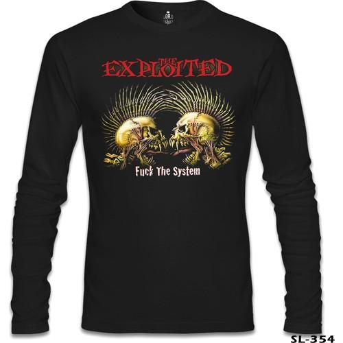 Lord T-Shirt The Exploited Siyah Erkek T-Shirt