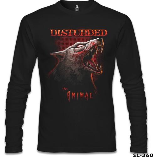 Lord T-Shirt Disturbed - Animal Siyah Erkek T-Shirt