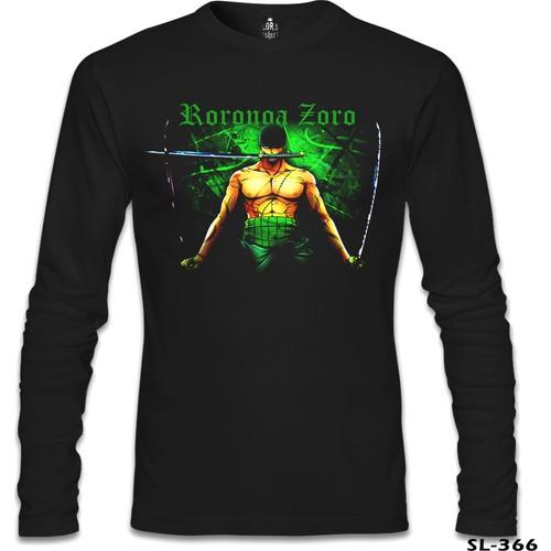 Lord T-Shirt One Piece - Zoro Siyah Erkek T-Shirt