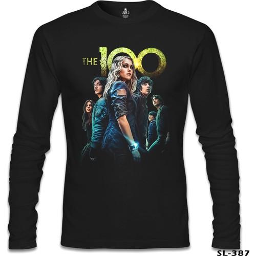 Lord T-Shirt The 100 Siyah Erkek T-Shirt
