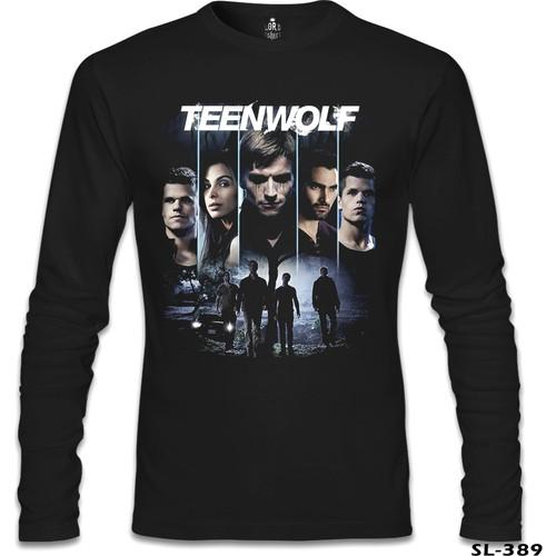 Lord T-Shirt Teen Wolf Siyah Erkek T-Shirt