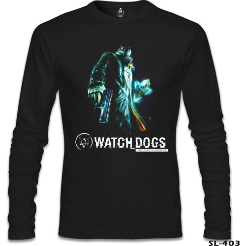 Lord T-Shirt Watch Dogs Siyah Erkek T-Shirt