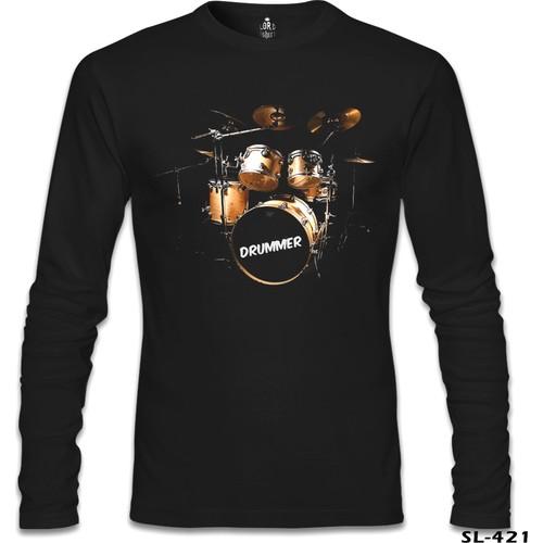 Lord T-Shirt Drummer Siyah Erkek T-Shirt
